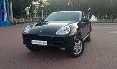 Аренда авто Porsche Cayenne Black