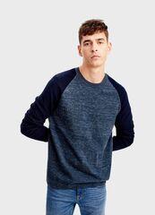 Кофта, рубашка, футболка мужская O'stin Джемпер с рукавами-реглан MK7T43-66