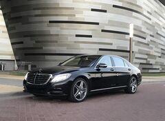 Аренда авто Mercedes-Benz S-Class W222 черный