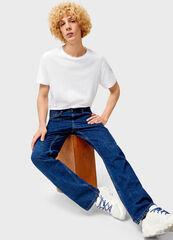 Брюки мужские O'stin Базовые прямые джинсы MPD104-D4
