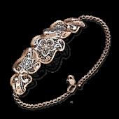 Ювелирный салон Платина Браслет золотой объемный 05-0565-00-000-1110-48