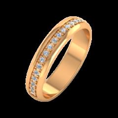 Ювелирный салон ZORKA Обручальное кольцо 154067
