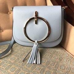 Магазин сумок Vezze Кожаная женская сумка С00139