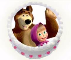 Торт Tortas Торт «Маша и медведь» №4