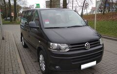 Прокат авто Аренда микроавтобуса Volkswagen Caravelle 2011