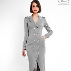 Платье женское Pintel™ Двубортное облегающее платье Josedith