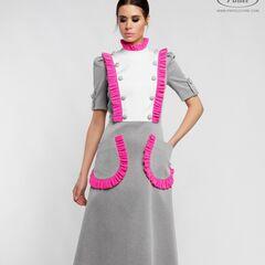 Платье женское Pintel™ Приталенное платье из хлопка Chouchie