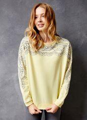 Кофта, блузка, футболка женская O'stin Толстовка с кружевом LT4U33-33