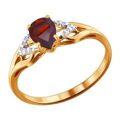 Ювелирный салон Sokolov Золотое кольцо 713829