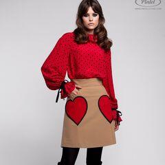 Костюм женский Pintel™ Комплект из блузы и юбки Jesse