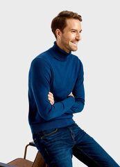 Кофта, рубашка, футболка мужская O'stin Джемпер с высокой горловиной MK6T72-67