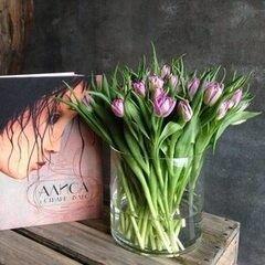 Магазин цветов VETKA-KVETKA Тюльпаны пионовидные, 50 штук