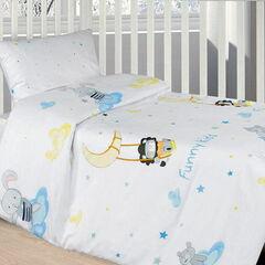 Подарок Ecotex Комплект постельного белья в детскую кроватку арт. 23