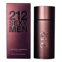 Парфюмерия Carolina Herrera Туалетная вода 212 Sexy Men, 100 мл