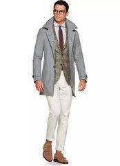 Верхняя одежда мужская SUITSUPPLY Мужское пальто J492