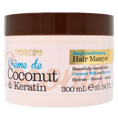 Уход за волосами Creightons Маска для волос с кокосовым кремом и кератином Увлажнение + Питание 300 мл