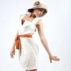Белорусский дизайнер YANCHILINA Платье 1301