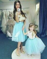 Вечернее платье ALIZA Family Look Tifani