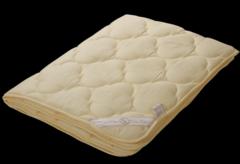 Подарок Голдтекс Одеяло из белого кашемира LUX в жаккардовом сатине 1086