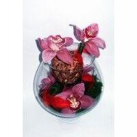 Магазин цветов Планета цветов Цветочная композиция в стекле №6