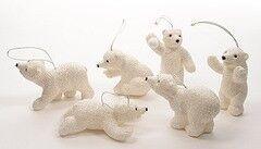 Елка и украшение mb déco Елочная игрушка «Медведь» с блестками в ассортименте
