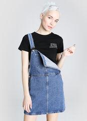 Платье женское O'stin Джинсовый сарафан LR5W64-D4
