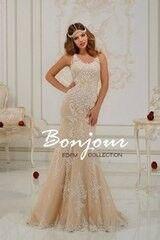 Свадебный салон Bonjour Свадебное платье «Manuella» из коллекции EDEM 2016