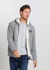 Верхняя одежда мужская O'stin Куртка-толстовка на подкладке из искусственного меха MT4V58-92