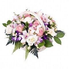 Магазин цветов Планета цветов Корзина с цветами №9