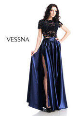 Вечернее платье Vessna Топ и Юбка длинная арт.1269 из коллекции VESSNA NEW