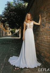 Свадебный салон Bonjour Свадебное платье Leyla из коллекции La Douceur