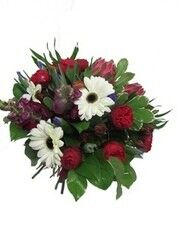 Магазин цветов Florita (Флорита) Букет из гербер и пионовидной розы