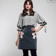 Костюм женский Pintel™ Комплект из блузы и юбки Venla