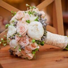 Магазин цветов Кошык кветак Букет свадебный №3