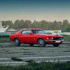 Прокат авто Прокат авто с водителем, Ford Mustang 1969-70 г.