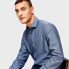 Кофта, рубашка, футболка мужская O'stin Рубашка мужская из хлопка MS4U32-68