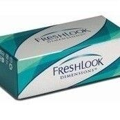 Линзы CIBA Vision Контактные линзы Freshlook Dimensions(без коррекции)(PacificBlue)