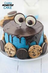 Торт DOLCE Детский торт «Cookie Monster»