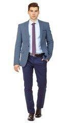 Пиджак, жакет, жилетка мужские HISTORIA Пиджак мужской синий H02
