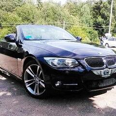 Прокат авто Прокат авто BMW E93 черного цвета