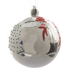 Елка и украшение mb déco Елочная игрушка «Шар-снеговик»