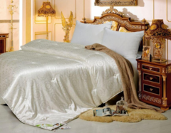 Подарок Tango Шелковое одеяло всесезонное в жаккарде Люкс TD1520