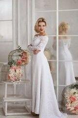 Свадебное платье напрокат ALIZA Свадебное платье «Bianca» Soffito