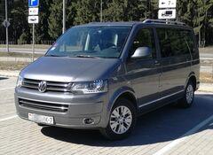 Прокат авто Аренда минивэна Volkswagen Multivan 2015 автомат 7мест