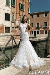 Свадебный салон Bonjour Свадебное платье Akkanta из коллекции La Douceur