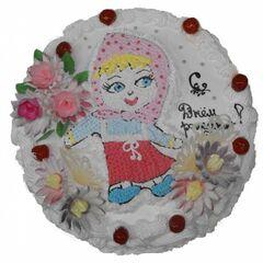 Торт Tortiki.by Торт «Мульти Лэнд» 2 кг арт. Д-2-2-12