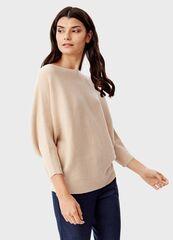 Кофта, блузка, футболка женская O'stin Джемпер с горловиной «лодочка» LK6T58-T2