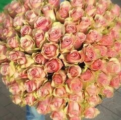 Магазин цветов Прекрасная садовница Сердце из 101 розы