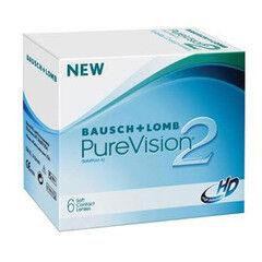Линзы Bausch & Lomb Контактные линзы Pure Vision 2HD