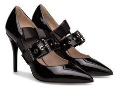 Обувь женская Ekonika Туфли EN1163-02 black-18Z